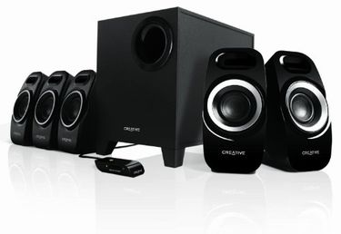 Creative Inspire T6300 5.1 Channel Multimedia Speakers Price in India