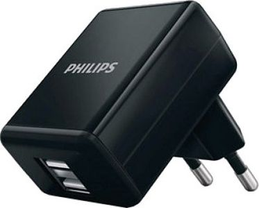 Philips DLP2209 Dual USB Wall Charger Price in India