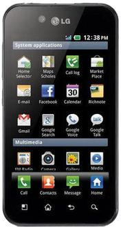 LG Optimus Black Price in India