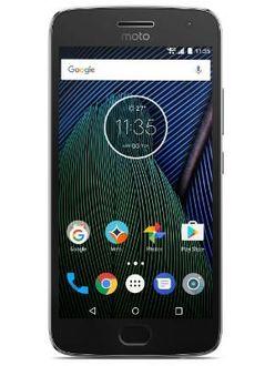 Motorola Moto G5 Plus 4GB RAM Price in India