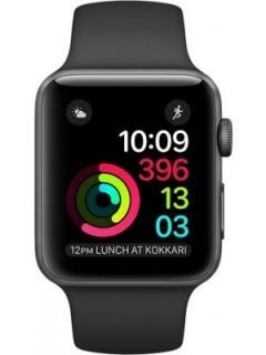Apple Watch Series 2 Space Gray Aluminum Case with Black Sport Band 42mm Price in India