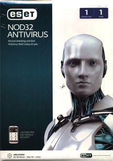 Eset NOD32 Version 7 Antivirus 1 PC 1 Year Price in India