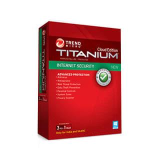 Trendmicro Titanium Internet Security 2014 3 PC 1 Year Price in India