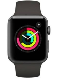 Apple Watch Series 3 Silver Aluminium Case with Fog Sport Band 42mm Price in India