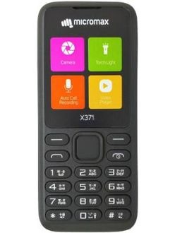 Micromax X371 Price in India