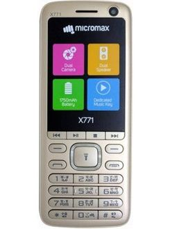 Micromax X771 Price in India