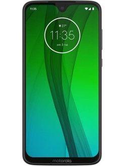 Motorola Moto G7 Price in India
