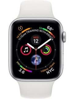 Apple Watch Series 4 GPS   Cellular Space Gray Aluminum Case with Black Sport Band 4.4cm Price in India