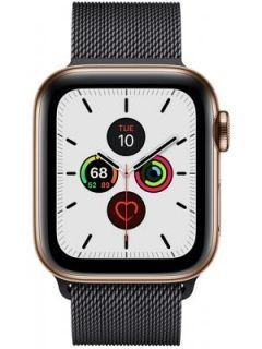 Apple Watch Series 5 Stainless Steel Case with Sport Band 40 mm Price in India