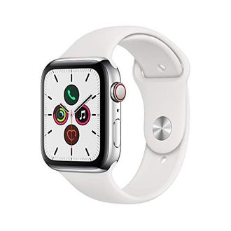 Apple Watch Series 5 Stainless Steel Case with Sport Band 44 mm Price in India