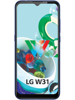 LG W31 Price in India