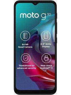 Moto G30 Price in India