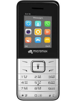 Micromax X418 Price in India