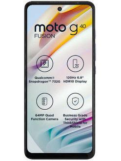 Moto G40 Fusion Price in India