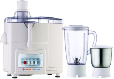 Bajaj Platini PX68J 450W Juicer Mixer Grinder Price in India