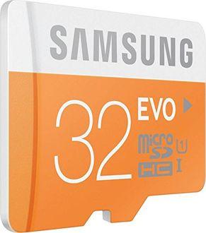 Samsung Evo 32GB MicroSDHC Class 10 (48MB/s) Memory Card Price in India