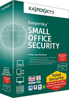 Kaspersky Small Office Security 25 PCs + 3 File Server + 25 Mobile Security 1 Year Price in India