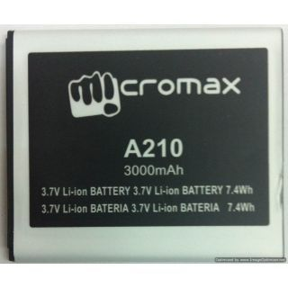 Micromax A210 battery Price in India
