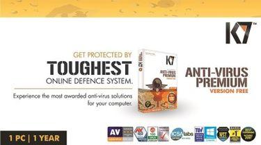 K7 Anti-Virus Premium 1 PC 1 Year Activation Card Price in India
