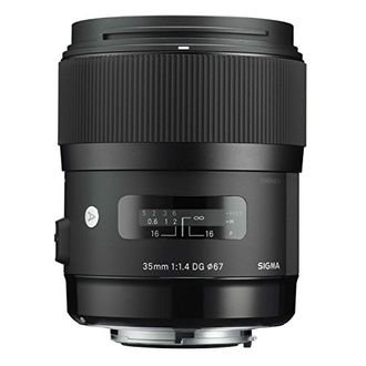 Sigma 35mm F1.4 DG HSM I A Lens (Nikon & Canon mount) Price in India