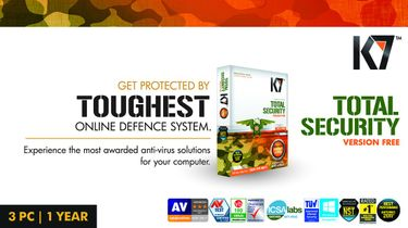 K7 Total Security 3 PC 1 Year (Activation card) Price in India