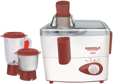 Maharaja Whiteline Real JX-102 450W Juicer Mixer Grinder Price in India