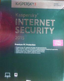 Kaspersky Internet Security 2015 3 PC 3 Year Antivirus Price in India