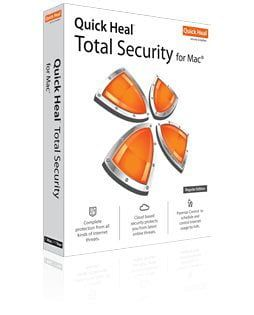 Quick Heal Total Security for Mac 1 PC 3 Year Price in India