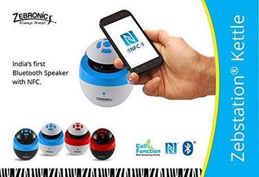 Zebronics Kettle Bluetooth Speaker Price in India
