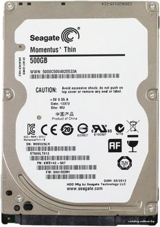 Seagate Momentus Thin 5400 (ST500LT012) 500GB Laptop Internal Hard Drive Price in India