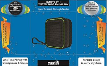 Merlin Bluetooth Water Proof Sound Box Price in India