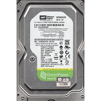 WD AV-GP (WD5000AVDS) 500GB Desktop Internal Hard Disk Price in India