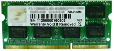 G.Skill (F3-1333C9S-8GSA) SA DDR3 8GB Laptop RAM Price in India