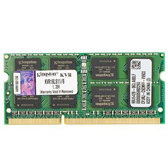 Kingston ValueRam (KVR16LS11/8) DDR3 8GB Laptop RAM Price in India