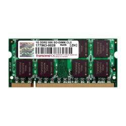 Transcend (JM800QSU-1G) DDR2 1GB Laptop RAM Price in India