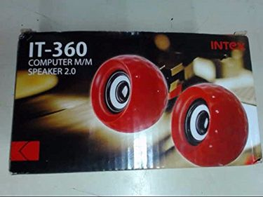 Intex IT-360 Portable Desktop Speaker Price in India