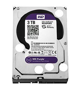 WD WD30PURX 3TB SATA Internal Hard Disk Price in India