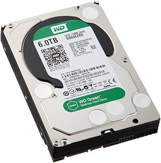 WD WD60EFRX  6 TB Desktop Internal Hard Disk Price in India