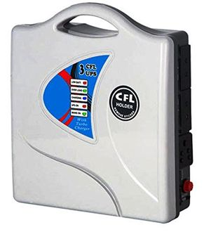 Subitron Model-05 50W CFL Portable Inverter (With Exide Smf Battery) Price in India