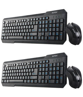 Intex DUO 312 USB Keyboard Price in India