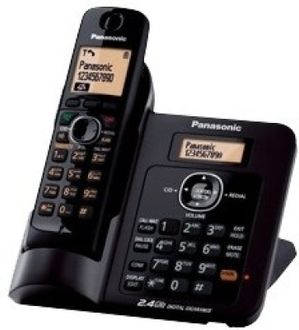 Panasonic KX-TG3811SXB Cordless Landline Phone Price in India