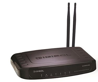 Digisol DG-BR4313NG 300 Mbps Wireless Green 3G Broadband Router Price in India