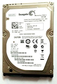 Seagate Momentus 7200.4 (ST9320423AS) 320GB Laptop Internal Hard Disk Price in India