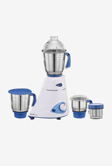 Preethi Blue Leaf Silver 600W Mixer Grinder Price in India