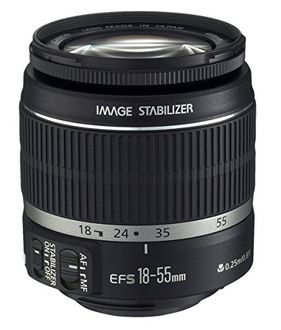 Canon EF-S 18-55mm F/3.5-5.6 IS STM Lens Price in India