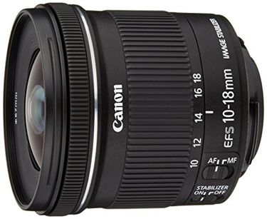Canon EFS 10-18mm F4.5-5.6 IS STM Lens Price in India