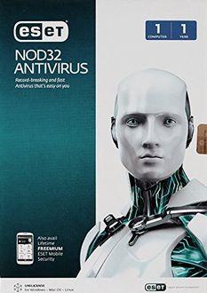 Eset Nod32 Antivirus Version8 1 PC 1 Year Price in India