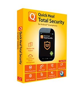 Quick Heal Total Security For Android 1 Year Price in India