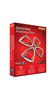 Quick Heal Anti Virus 2015 10 User 1 Year Price in India