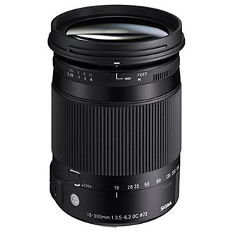 Sigma 18-300mm F3.5-6.3 DC MACRO OS HSM Lens(For Canon/Nikon/Sony/Pentax) Price in India